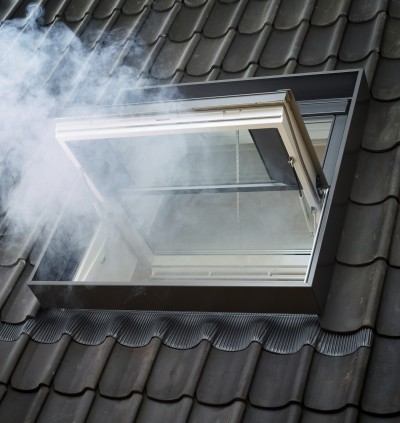 Finestra evacuazione di fumo e calore
