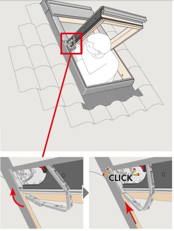 Spinotto tenda velux come fare for Motorizzare velux