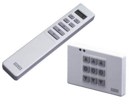 pulsantiera e telecomando infrarossi