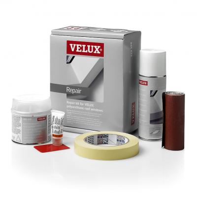 Istruzioni d 39 uso kit di riparazione fai da te velux come for Finestre velux istruzioni telecomando