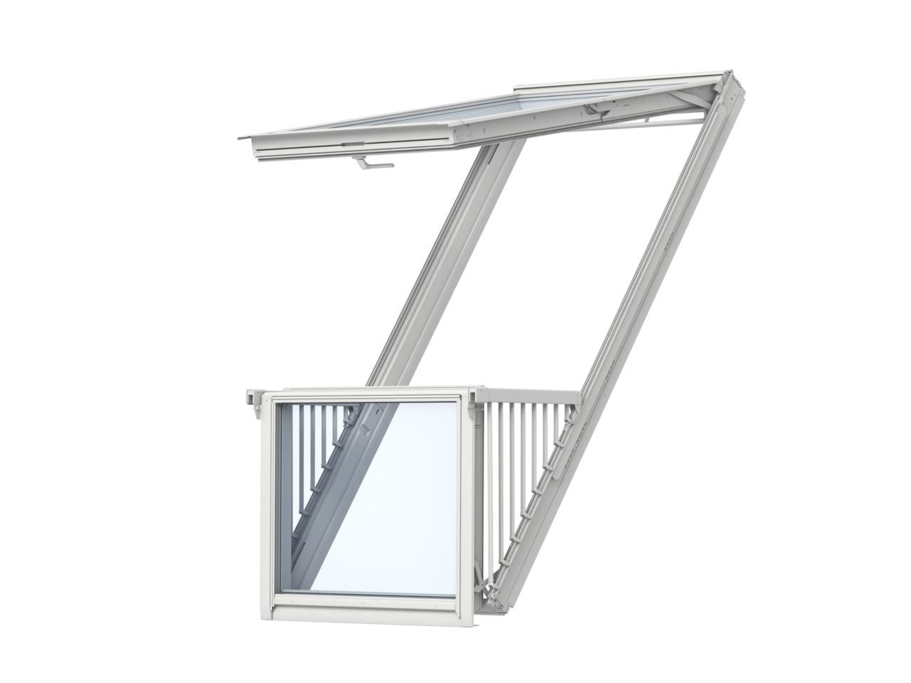 Istruzioni finestre speciali velux come fare for Velux finestre balcone