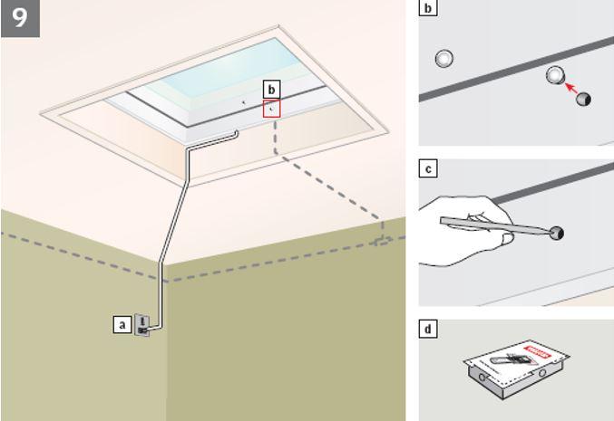 Come fare il reset finestra per tetti piani velux come fare for Motore elettrico per velux