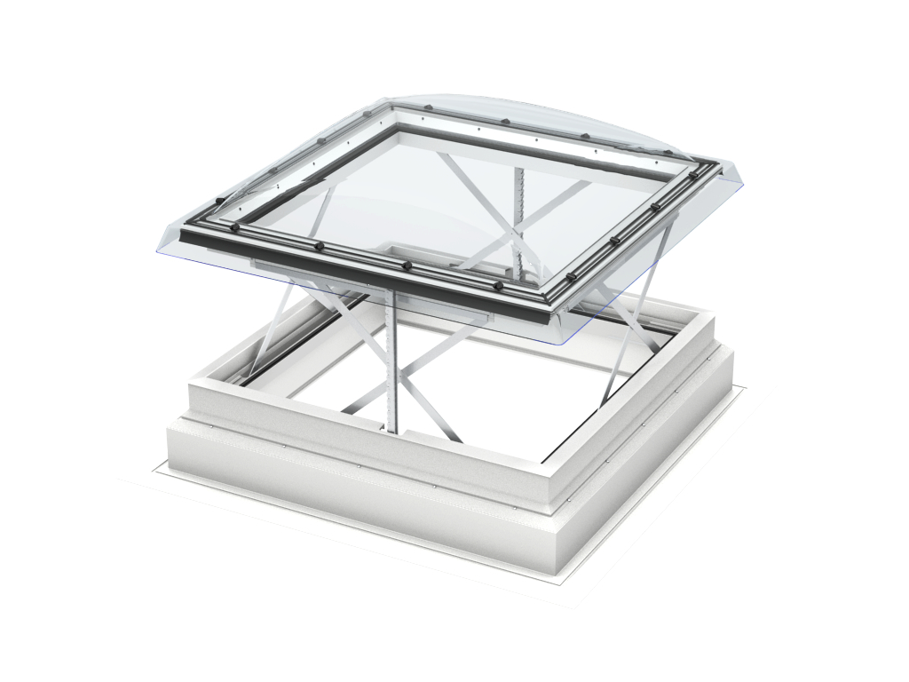 Istruzioni finestre per tetti piani evacuazione di fumo e for Finestre velux istruzioni telecomando